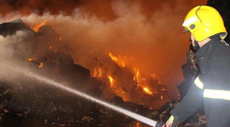 广东珠海越亚公司火灾救援解析