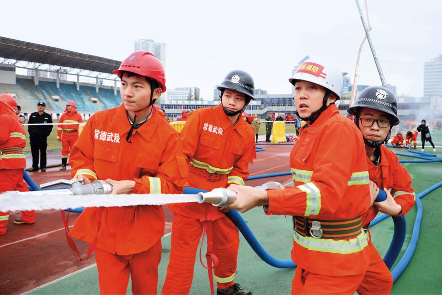 国家消防救援队伍的崇高荣誉