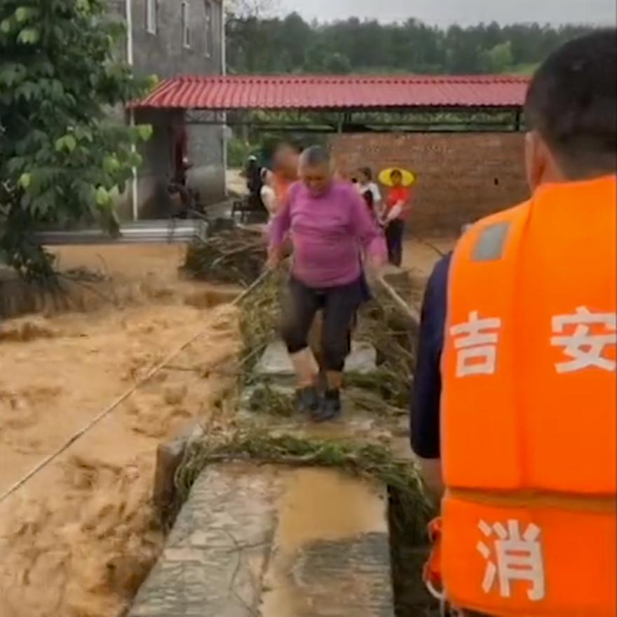 江西省吉安县消防救援大队抗洪抢险纪实