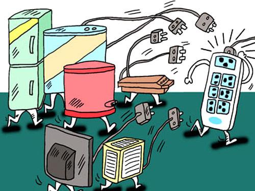 日常生活中电线起火原因与处置方法