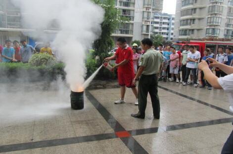 创建消防安全社区 共建平安家园