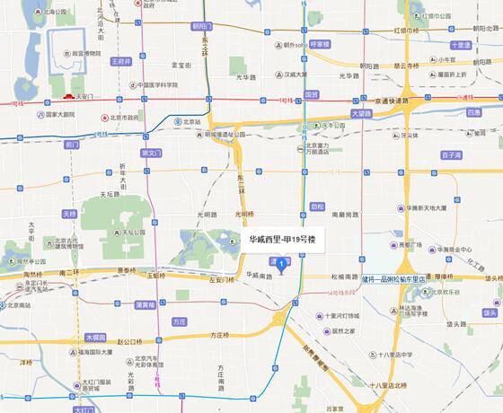 《中国消防》杂志社地理位置