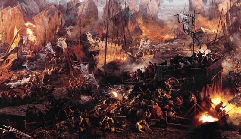 火在战争中的应用 ——三国演义之火烧赤壁