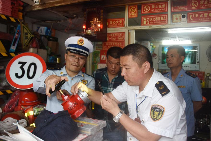 海南海口三部门联合开展消防产品质量专项检查