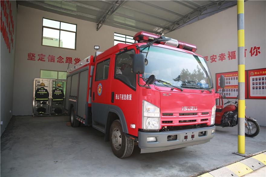 浙江义乌一村庄筹集300余万建成多功能性消防队伍
