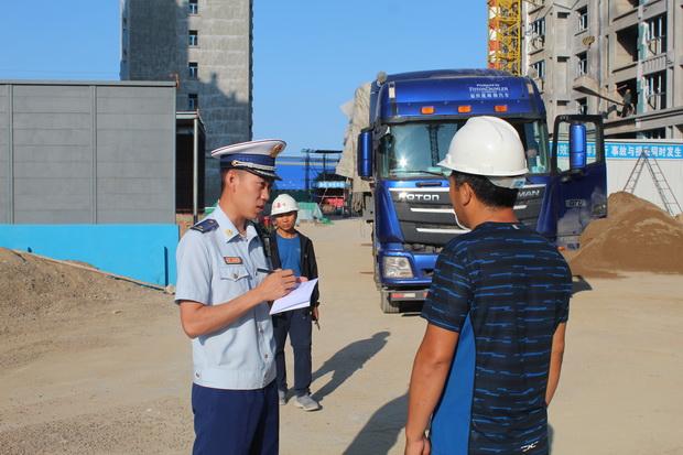 内蒙古乌兰浩特 开展建筑工地消防安全检查