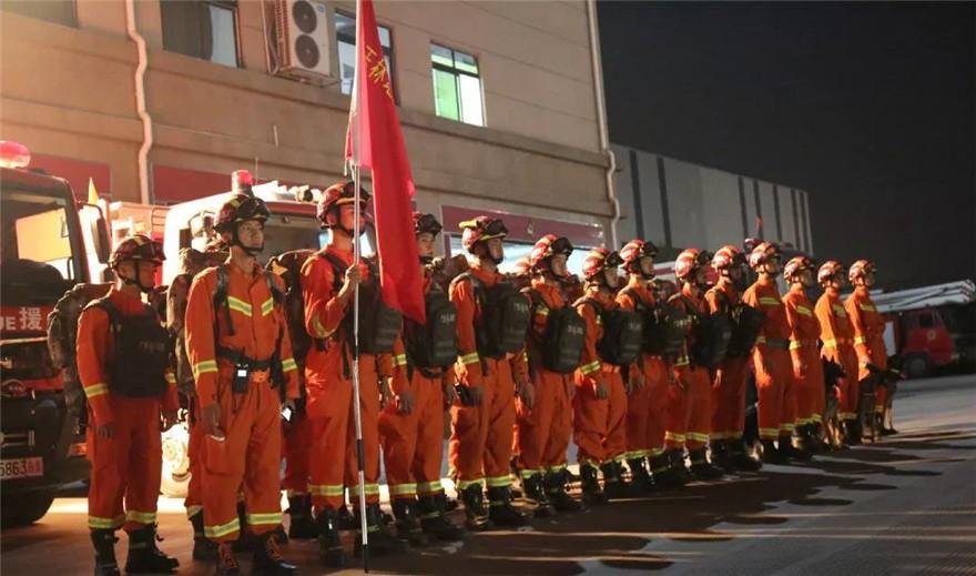 北流5.2级地震  广西消防救援队伍迅速集结响应